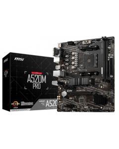 Placa Base MSI A520M PRO mATX AM4 0