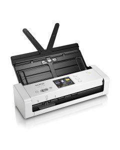 Escáner Portátil Dúplex Wifi Color Brother ADS-1700 7,5 ppm 1200 dpi Blanco 0