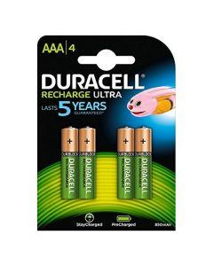 Pilas Recargables DURACELL DURDLLR03P4B HR03 AAA 800 mAh (4 pcs) 0