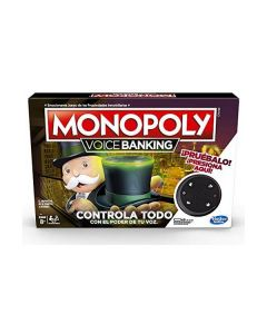 Juego de Mesa Monopoly Voice Banking Hasbro (ES) (Reacondicionado A+) 0
