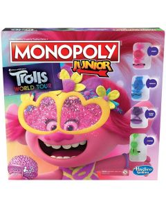 Monopoly Hasbro Trolls World Tour E7496 Infantil Inglés (Reacondicionado A+) 0