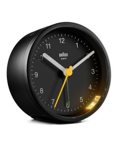 Reloj-Despertador Analógico Braun BC-12-B Negro 0
