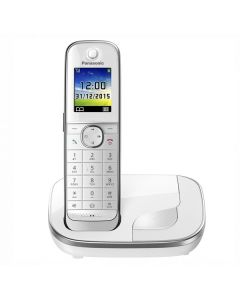 "Teléfono Inalámbrico Panasonic Corp. KX-TGJ310SPW DECT 1,8"" TFT GAP Blanco 0"