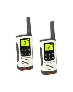 Walkie-Talkie Motorola T50 (2 Pcs) Blanco Gris 0