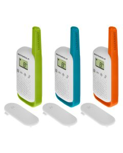Walkie-Talkie Motorola T42 Multicolor (3 pcs)