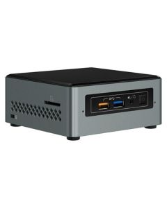 Mini PC Intel NUC6CAYH Celeron J3455 DDR3L Gris 0
