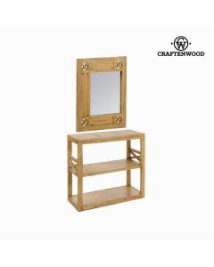 Recibidor con espejo ios - Colección Village by Craftenwood