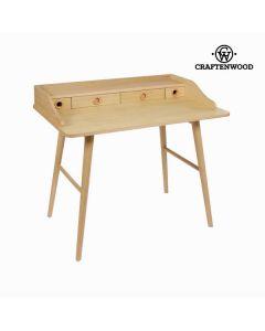 Bureau wood 4 cajones - Colección Modern by Craftenwood