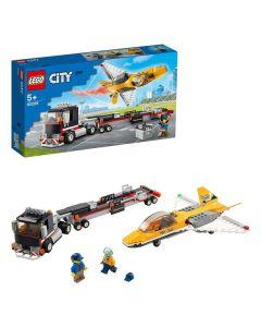 Playset City Airshow Jet Transporter Lego 60289 0