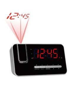 Radio Despertador Denver Electronics CRP-618 FM Negro