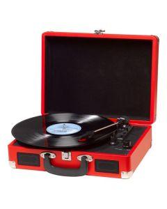 Tocadiscos Denver Electronics VPL-120 Rojo 0