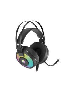Auriculares con Micrófono Genesis Neon 600 RGB Negro 0
