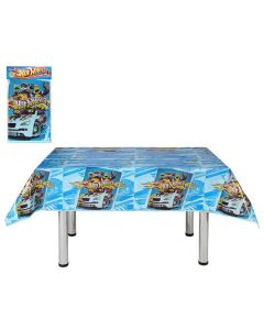 Mantel para Fiestas Infantiles Hot Wheels 116039 (180 x 120 cm) 0