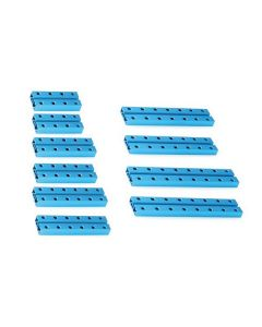 Vigas para Contrucciones de Robótica Makeblock 0824 (10 pcs) Azul 0
