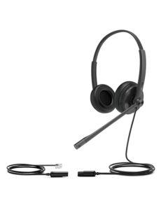 Auriculares con Micrófono Yealink YHS34 Lite Dual Negro 0