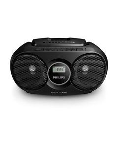 Radio CD Philips AZ318B/12 FM 3W Negro 0