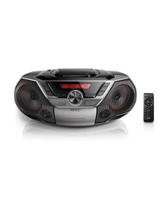 Radio CD Bluetooth MP3 Philips AZ700 12W Gris 0
