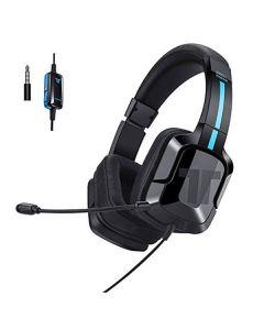 Auricular con Micrófono Gaming Tritton 90131 Negro/azul
