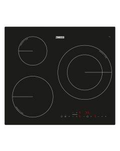Placa de Inducción Zanussi ZM6233IOK 60 cm (3 Zonas de cocción) 0
