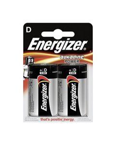 Pilas Energizer Alkaline Power D LR20 (2 uds) 0