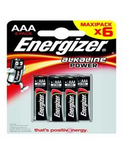 Pilas Energizer E300132500 LR03 AAA (6 uds) 0