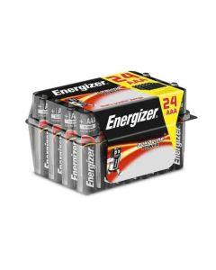 Pilas Energizer ALKALINE POWER VALUE BOX LR03 AAA (24 uds) Negro 0