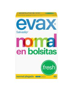 Salvaslip Normal fresh Evax (40 uds) 0