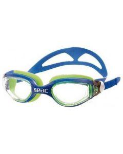Gafas de Natación para Adultos Seac Occhialini Ritmo Azul Verde