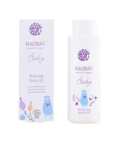Aceite Corporal Hidratante Para Bebés Baby Relaxing Naobay (200 ml)