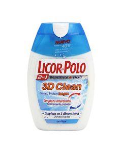 Pasta de Dientes 3d Clean Licor Del Polo (75 ml) 0