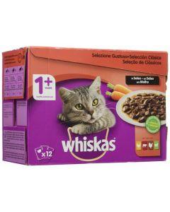 Comida húmeda Whiskas Gato (12 uds) (Reacondicionado A+) 0
