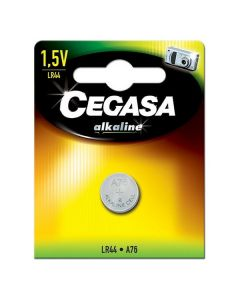 Pila Alcalina Cegasa LR44 1,5 V 0