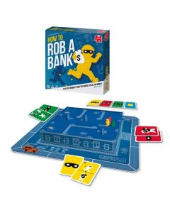 Juego de Mesa How to Rob a Bank Diset (ES-PT-FR-IT) 0