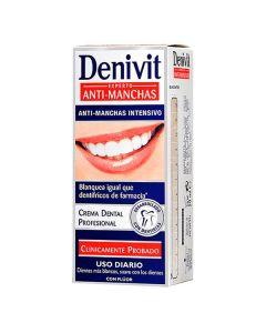 Pasta de Dientes Antimanchas Denivit (50 ml) 0