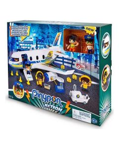 Playset Pinypon Action Emergency In The Plane Famosa 0