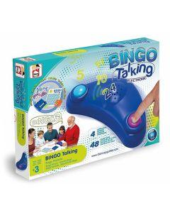Bingo Automático Chicos Azul (Es-en-fr-pt) 0