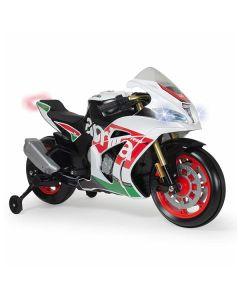 Motocicleta Injusa Racing Aprilia 12 V (111 x 54 x 62 cm) 0