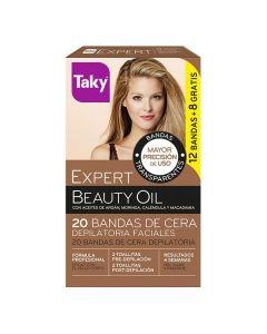 Cera Depilatoria Facial Beauty Oil Taky (20 pcs) 0