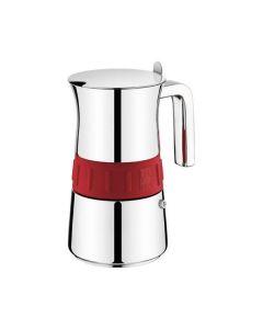 Cafetera Italiana BRA A170567 (6 tazas) Acero inoxidable 0