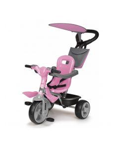 Triciclo Feber Baby Plus Music Rosa 0