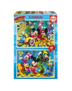 Puzzle Mickey & The Roadster Racers Educa (20 pcs) 0