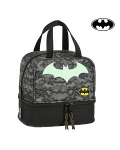 Portameriendas Batman Negro Gris (15 L) 0