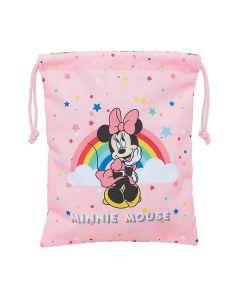 Bolsito de Merienda Safta Minnie Mouse Arcoíris (20 x 25 cm) 0
