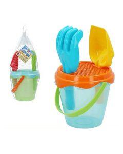 Set de Juguetes de Playa Color Beach Plástico (3 Pcs) 0