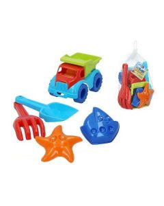 Set de Juguetes de Playa Color Beach Plástico (5 Pcs) 0