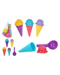 Set de Juguetes de Playa Ice Cream Color Beach (9 pcs) 0
