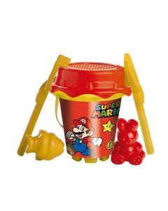 Cubo de Playa Super Mario Unice Toys (18 cm) 0
