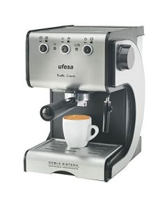 Cafetera Express de Brazo UFESA CE7141 1,5 L 15 bar 1050W Negro Plateado Inox 0
