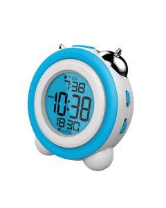 Reloj-Despertador Daewoo DCD-220BL Azul 0