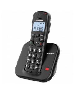 Teléfono Inalámbrico Daewoo DTD-7200B Negro 0